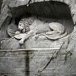 Lion of Lucerne, Switzerland — Stock Photo