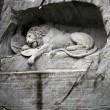 Royalty-Free Stock Photo: Lion of Lucerne, Switzerland