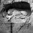 Lion of Lucerne, Switzerland - Stock Photo
