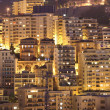 Night view of Monaco - Stock Photo