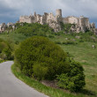 Stock Photo: Spissky hrad castle in Slovakia