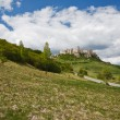 Spissky hrad castle in Slovakia - Stock Photo