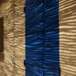 Shaded wall of a house in Provence, France. - Stock Photo