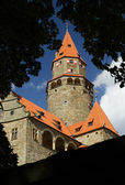Splendid medieval castle - Bouzov Castle, Czech republic — Stock Photo