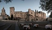 Splendid gothic Popes' Palace in Avignon, France — Stock Photo