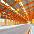 Orange tunnel and highway at day — Stock Photo #6809506