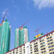 Stock Photo: Construction site in Hong Kong at day
