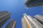 Hong Kong apartment blocks — Stock Photo