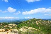 Valle de la montaña en hong kong — Foto de Stock