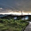 Village in countryside of Hong Kong, HDR image. — Stock Photo