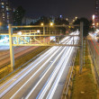Traffic in city at night — Stock Photo #7390966