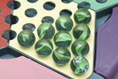 Chinese checkers, close-up. — Stock Photo