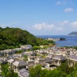 Cheung Chau sea view from hilltop, Hong Kong — Stock Photo