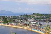 Isla, Cheung chau en hong kong en la cima de la colina — Foto de Stock