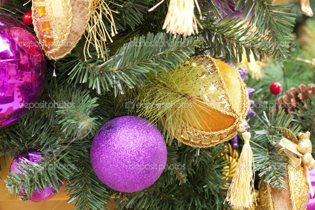 Christmas decorations background — Stock Photo #7604283