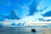 Seascape in Hong Kong along the coast — Stock Photo