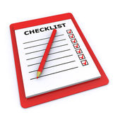 Checklist — Stock Photo