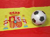 Spanischen fußball — Stockfoto