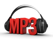 Mp3 music — Stock Photo