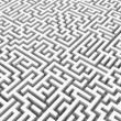White infinity maze. — Stock Photo #6801212