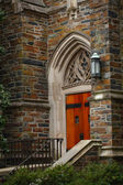 Duke University Chapel Side Door — Stock Photo