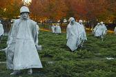 Korean War Veterans Memorial Statues — Fotografia Stock