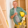 Stock Photo: Handymmature professional diy home improvement