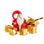 Santa Claus and christmas decoration — Stock Photo #7024183