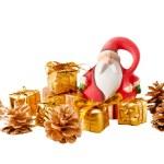 Santa Claus and christmas decoration — Stock Photo #7024184