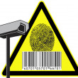 Security camera — Stock Photo