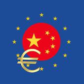 China and the European Union — Stock Photo