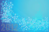 Abstract winter background — Stock vektor