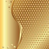 Gold-hintergrund — Stockvektor