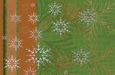 праздничный новогодний фон — Cтоковый вектор