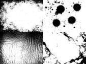 Arrière-plans de grunge — Vecteur