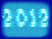 Yeni yılın simgesi — Stok Vektör