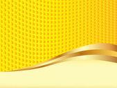 Gele achtergrond vector — Stockvector