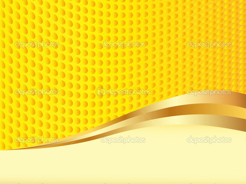 Yellow vector background with space for text (EPS 8) — Stock Vector #7918429