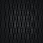 El fondo abstracto oscuro con una rejilla — Vector de stock