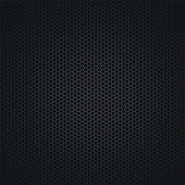 The dark abstract background with a grid — Vector de stock