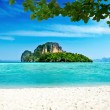 Tropical island in Thailand - Stock Photo