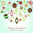 Royalty-Free Stock Vector Image: Beautiful design Christmas greeting card