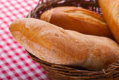 Ciabatta, italian bread — Stock Photo