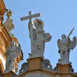 Stock Photo: Statues of Melk abbey