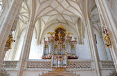 Piarist church organ — Stock Photo