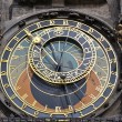 Zodiacal ring of Prague Astronomical Clock - Stock Photo