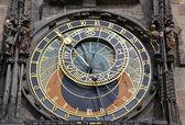 Zodiacal ring of Prague Astronomical Clock — Stock Photo