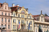 Ancient palace in Prague — Stock Photo