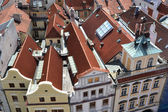 Roofing of Old Prague — Stock Photo
