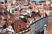 Rooftop bar in Prague old town — Stock Photo